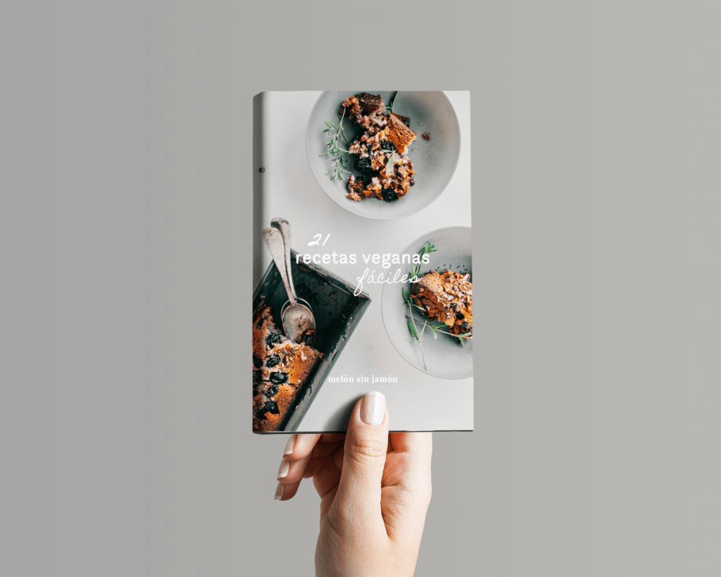 ebook 21 recetas veganas fáciles