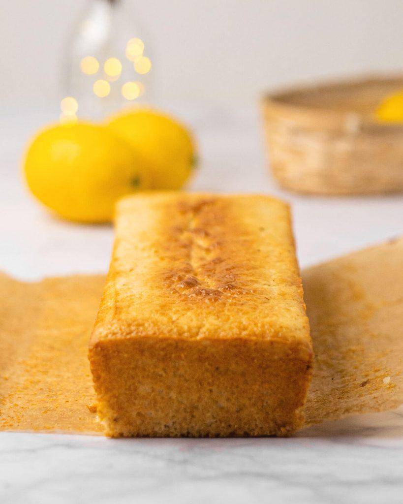bizcocho de limón vegano