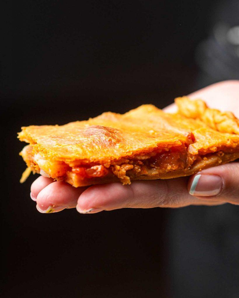 receta empanada vegana